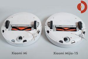 Vergleich-Xiaomi-Mi-Robot-und-Xiaomi-Mijia-1S-Unterseite-2