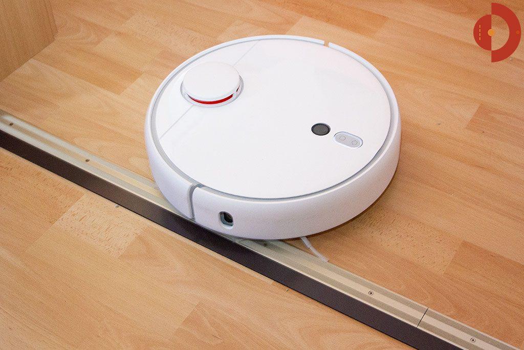 Xiaomi-Mi-Robot-1S-Xiaomi-Mijia-1S-Test-Saugroboter-Magnetband