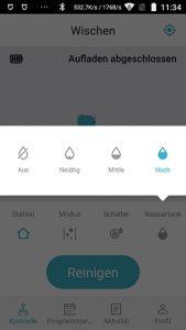 Cecotec-Conga-4090-App-Wassermenge