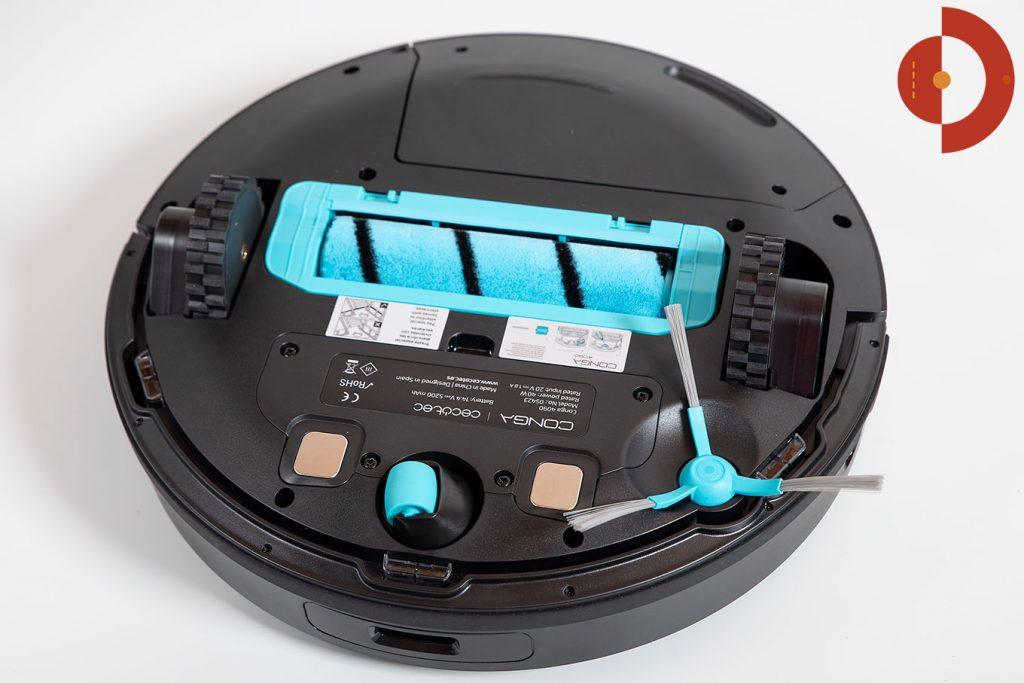 Cecotec-Conga-4090-Test-Saugroboter-Wichroboter-2