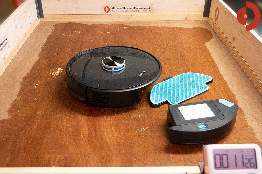 Cecotec-Conga-4090-Test-Saugroboter-Wichroboter-6