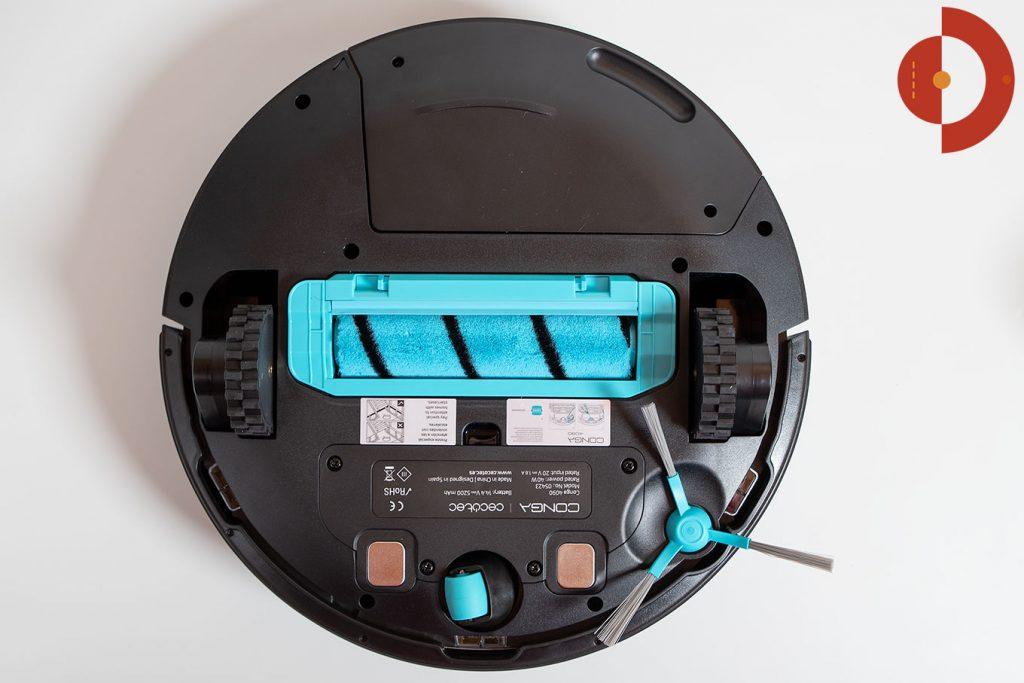Cecotec-Conga-4090-Test-Saugroboter-Wichroboter-Unteransicht