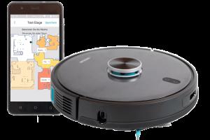 Conga-4090-Test-Freigestellt-Smartphone-Saugroboter-8b