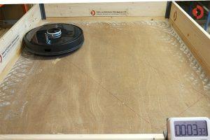 Conga-4090-Testbericht-Randreinigung-Quarzsand