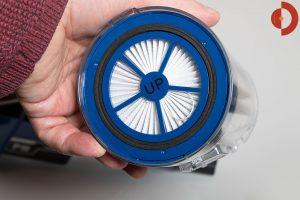 Proscenic-P10-Test-Akku-Staubsauger-Filter
