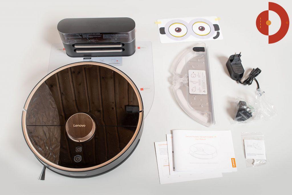 Lenovo-X1-Test-Saugroboter-Lieferumfang