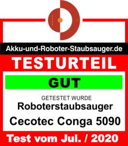 Testergebnis Cecotec Conga 5090