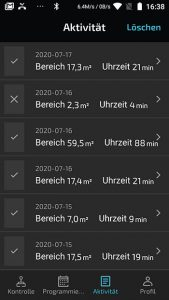 app-cecotec-conga-5090-aktivitaet