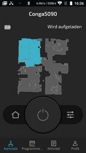 app-cecotec-conga-5090-hauptscreen