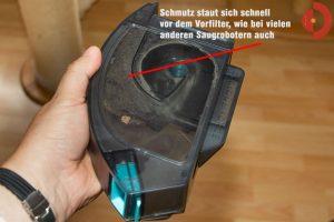 cecotec-conga-5090-test-Schmutzbehaelter-Cyklon
