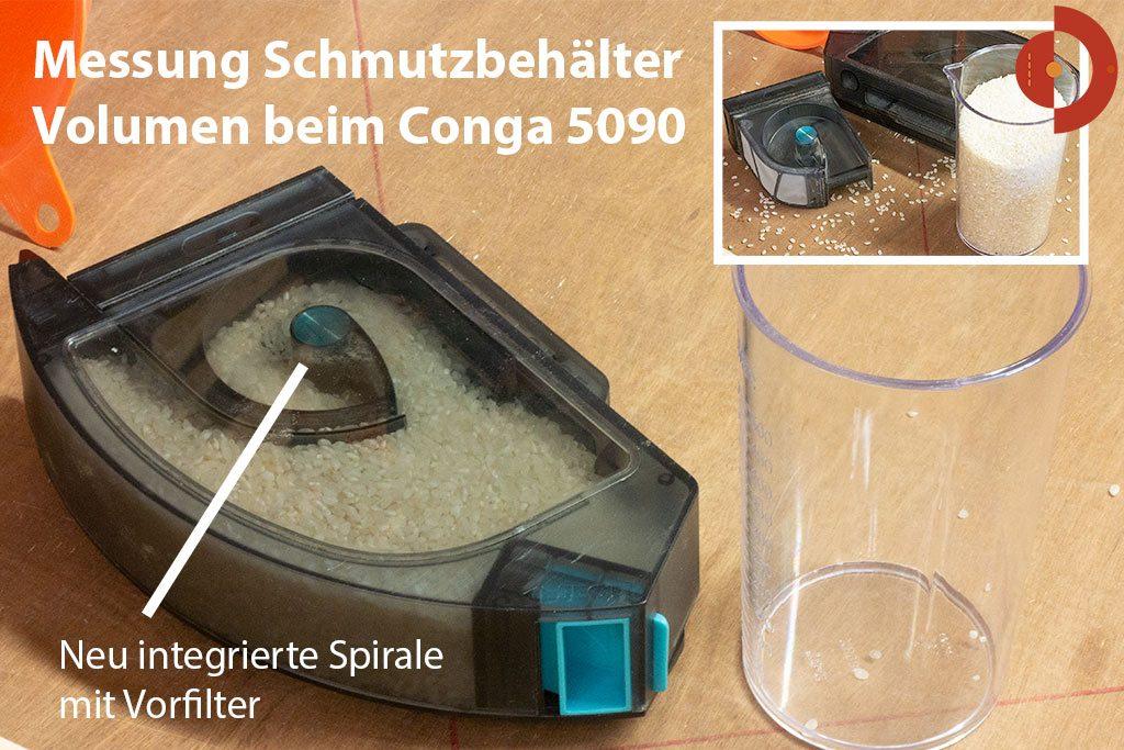cecotec-conga-5090-test-schmutzbehaelter-volumen