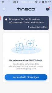 App-Waschsauger-Test-Tineco-Floor-One-S3-Install-Hinzufuegen