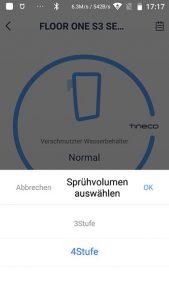 App-Waschsauger-Test-Tineco-Floor-One-S3-Spruehvolumen