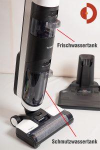 Tineco-Floor-One-S3-Test-Nass-Trockensauger-Wischwassertank