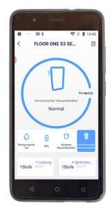 Tineco-Floor-One-S3-Test-Smartphone-App-Akku-Wischsauger