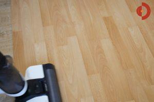 Tineco-Floor-One-S3-Test-Testflaeche-Ei-Hafer-Milch-3