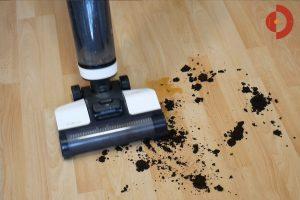 Tineco-Floor-One-S3-Test-Testflaeche-Kaffee