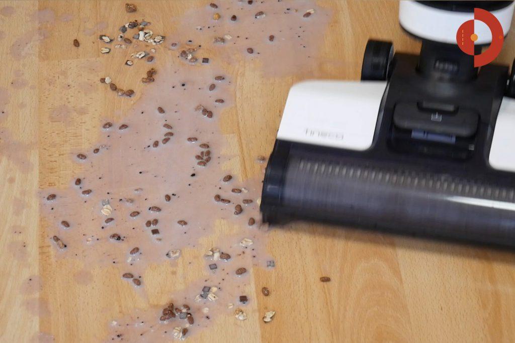 Tineco-Floor-One-S3-Test-Testflaeche-Muesli