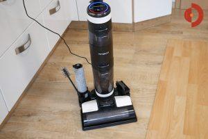 Tineco-Floor-One-S3-Test-Testflaeche-Selbstreinigung
