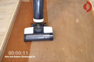 Tineco-Floor-One-S3-Test-Testflaeche-Wasserverteilung1