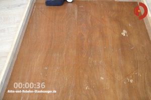 Tineco-Floor-One-S3-Test-Testflaeche-Wasserverteilung2