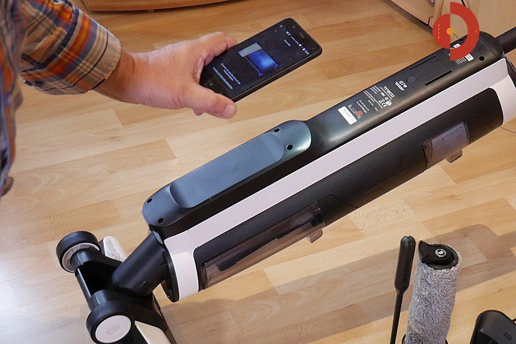 Tineco-Floor-One-S3-Test-Waschsauger-App-scannen