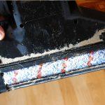 Bissell-CrossWave-Cordless-Test-Unterseite-nach-Teppich-Reinigung