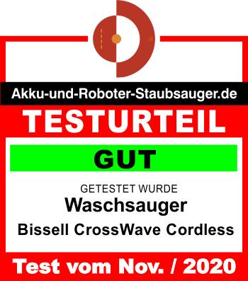 Bewertung-Bissell-CrossWave-Cordless-112020-350