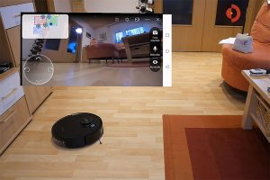 Deebot-Ozmo-T8-AIVI-Test-Kamera-Sichtweise-Raumueberwachung