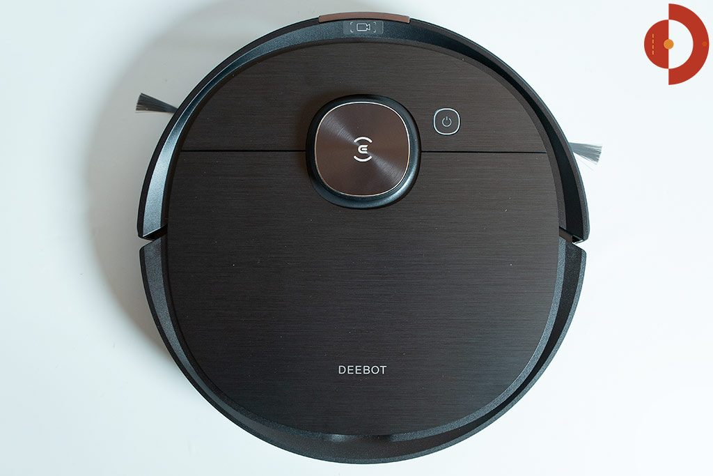 Deebot-Ozmo-T8-AIVI-Test-Saugroboter-Draufsicht