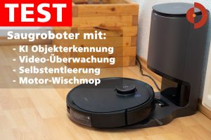 Ecovacs-Deebot-Ozmo-T8-AIVI-Saugrobboter-Test-Objekterkennung-Absaugstation