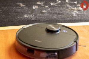 Ecovacs-Deebot-Ozmo-T8-AIVI-Test-Haare-testen-1