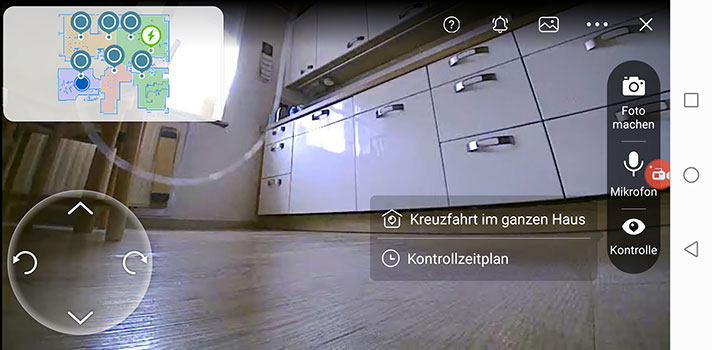 Live-Bild der Kamera