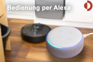 Alexa Saugroboter Bedienung