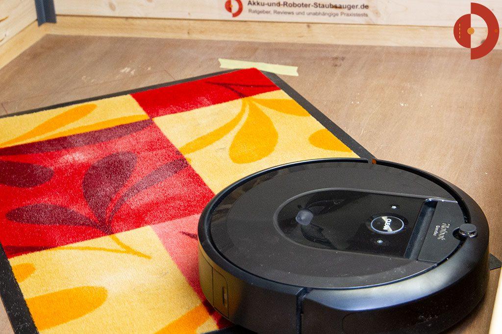 iRobot-Roomba-i7-Test-Schmutzmatte
