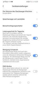 Dreame-D9-App-Bedienung-Geraeteeinstellungen