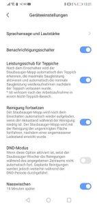 Dreame-D9-App-Bedienung-Geraeteeinstellungen2