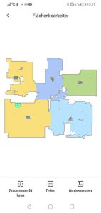 Dreame-D9-App-Bedienung-Karte-Verwalten-Raeume-aendern