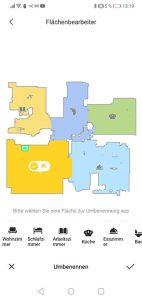 Dreame-D9-App-Bedienung-Karte-Verwalten-Raeume-umbenennen