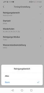 Dreame-D9-App-Bedienung-Timer-Programmierung-3