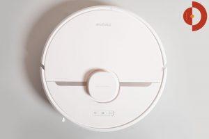 Dreame-D9-Mistral-Test-Saugroboter-Draufsicht