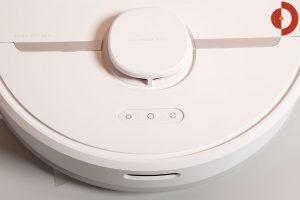 Dreame-D9-Mistral-Test-Saugroboter-Tasten-Lidar-Sensor