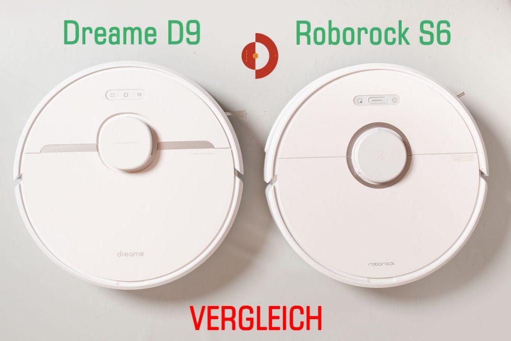 Dreame-D9-RoborockS6-Vergleich-Test