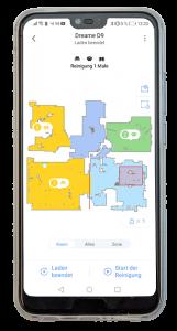 Dreame-D9-Smartphone-App-freigestellt