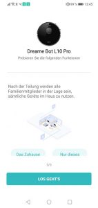 App-Dreame-Bot-L10-Pro-Test-Inbetriebnahme-2