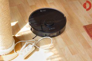 Dreame-Bot-L10-Pro-Test-Objekterkennung-Kabel