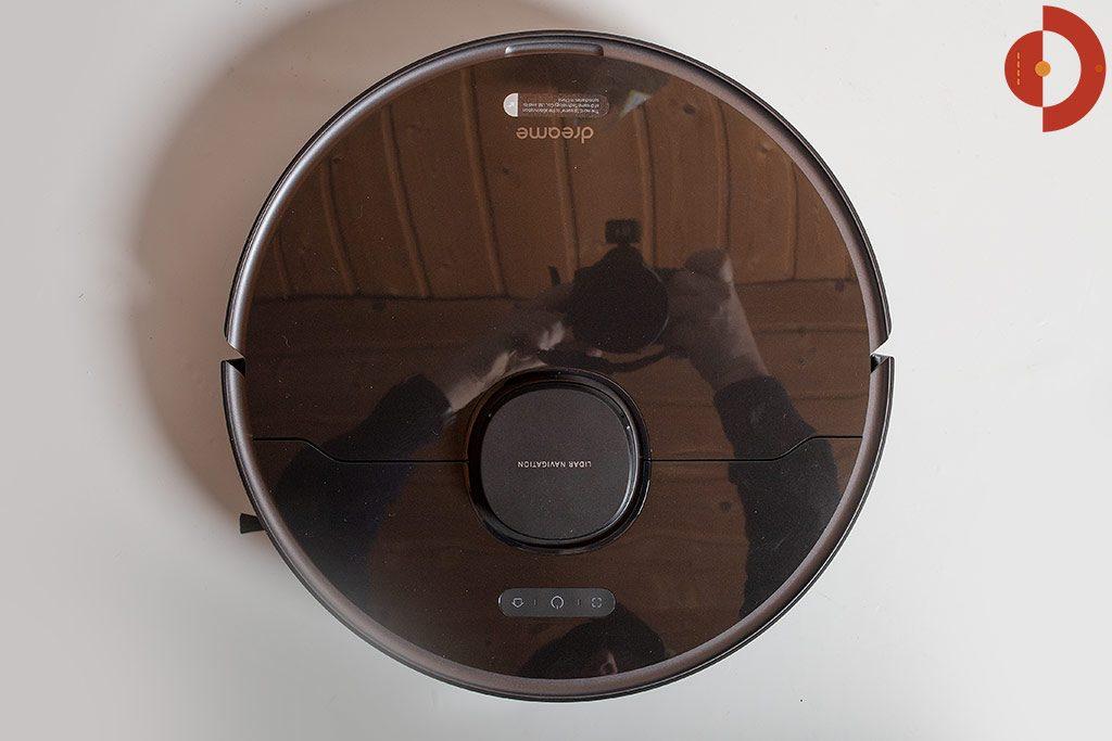 Dreame-Bot-L10-Pro-Test-Saugroboter-Draufsicht