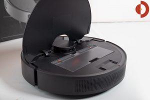 Dreame-Bot-L10-Pro-Test-Saugroboter-Schmutzfach-2