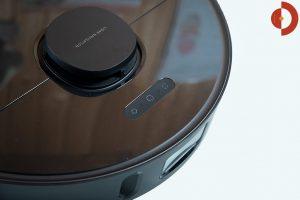 Dreame-Bot-L10-Pro-Test-Saugroboter-Tasten-Kamera