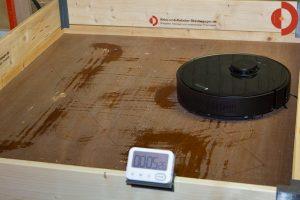 Dreame-Bot-L10-Pro-Test-Wischroboter-Wasserverteilung-5-Min